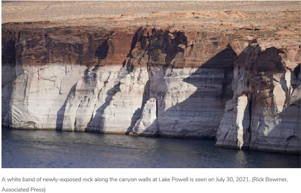 (KSL News) 'Lake Powell Pipeline makes no sense,' conservationists say after Colorado River water shortage declared