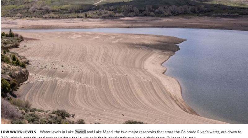 (The Nature Conservancy) Shortage Declared for the Colorado River